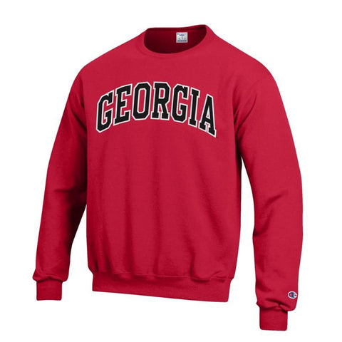 UGA GEORGIA Champion Sweatshirt - Red