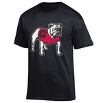 UGA Standing Bulldog Champion T-Shirt - Black