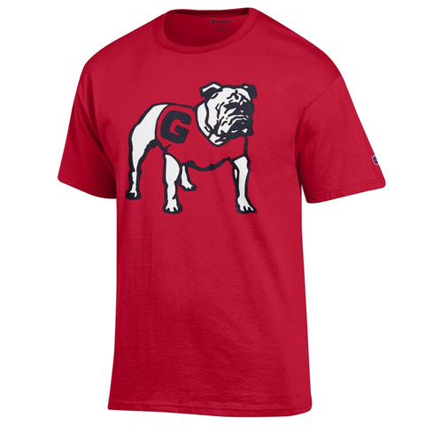 UGA Georgia Bulldogs Champion T-Shirt - Red