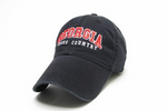 UGA Georgia Bulldogs Cross Country Legacy Cap - Black