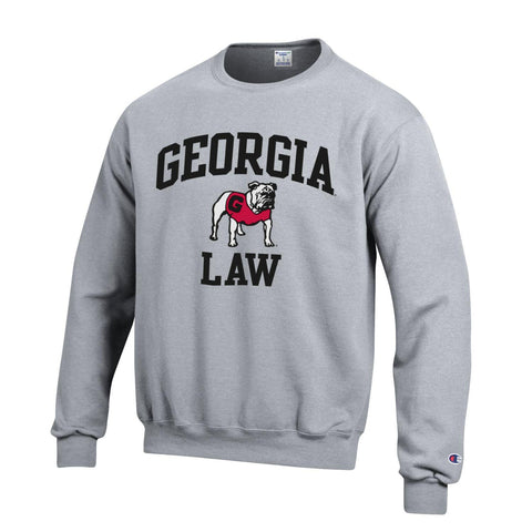UGA Georgia Bulldogs Champion LAW Sweatshirt - Gray