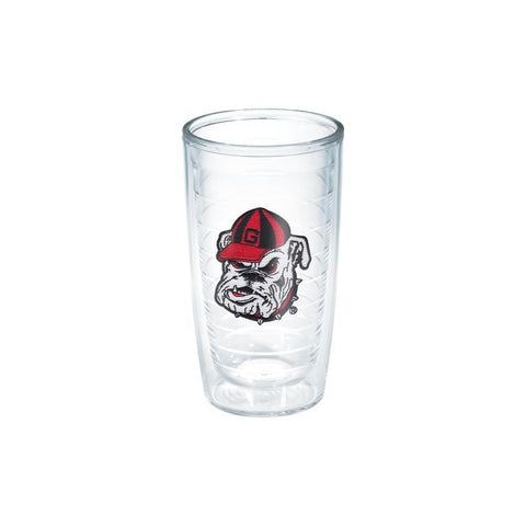 UGA Georgia Bulldogs Tervis 16oz. Old Bulldog Head Tumbler