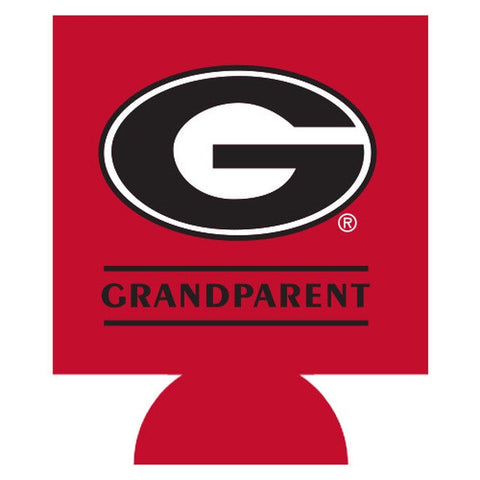 UGA Grandparent Double-Sided Can Cooler