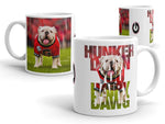 UGA Hunker Down You Hairy Dawg Mug