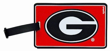 UGA Georgia Bulldogs Oval G Backpack And Luggage Tag