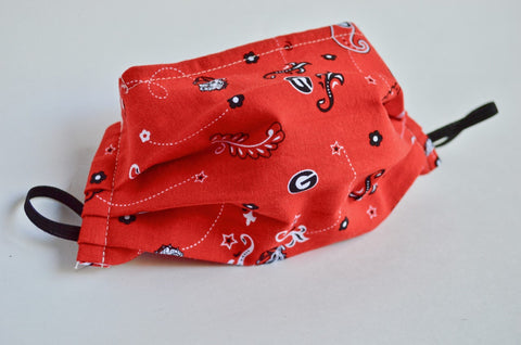 UGA Cloth Face Mask - Red