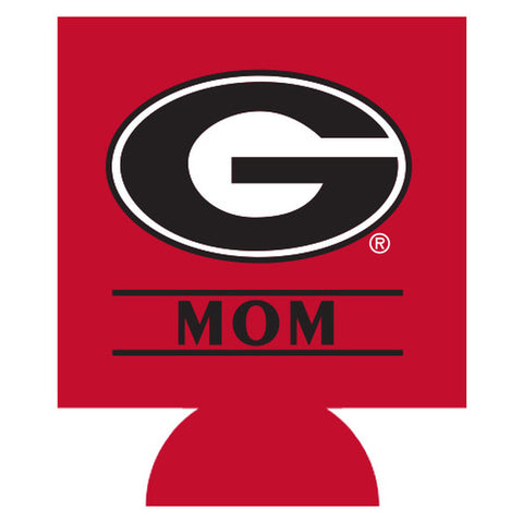 UGA Mom Double-Sided Can Cooler