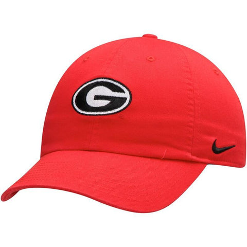 UGA Georgia Bulldogs Nike Cotton Oval G Cap - Red