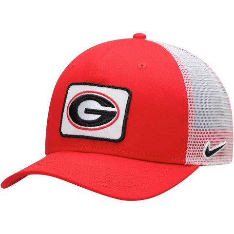 UGA Georgia Bulldogs Nike Oval G Mesh Trucker Hat