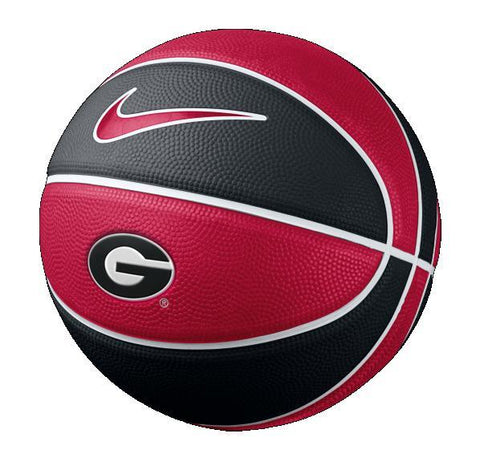UGA Georgia Bulldogs Nike Mini Rubber Basketball