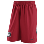 UGA Georgia Bulldogs Nike New Bulldog Head Hypervent Shorts - Red