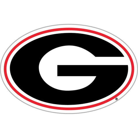UGA Georgia Bulldogs Car Magnet - Oval G