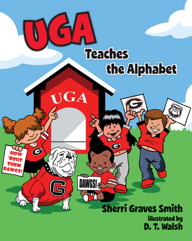 UGA Georgia Bulldogs Uga Teaches The Alphabet Children's Book