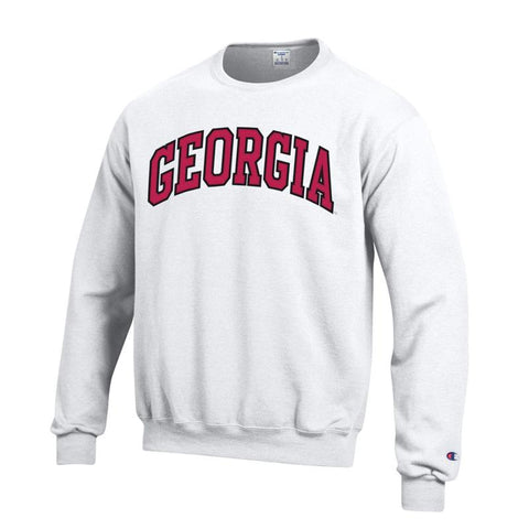 UGA GEORGIA Champion Sweatshirt - White