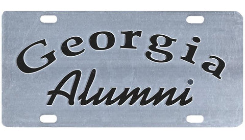 UGA Georgia Alumni Car Tag - Mirror