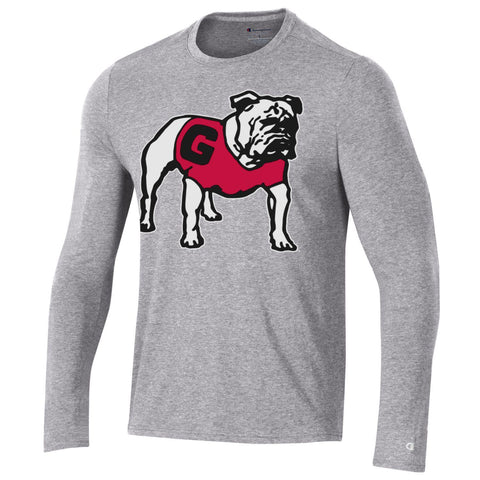 UGA Champion Athletic T-Shirt - Gray LS