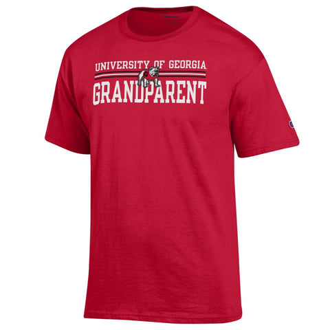 UGA GRANDPARENT Champion T-Shirt - Red