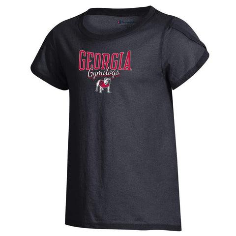 UGA Georgia Bulldogs Champion Youth Girls Gymdogs T-Shirt