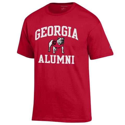UGA Champion GEORGIA ALUMNI T-Shirt - Red