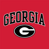 UGA GEORGIA Oval G Champion T-Shirt - Red