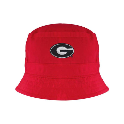 UGA Georgia Bulldogs Toddler Oval G Bucket Hat - Red