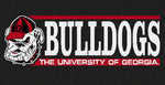 UGA Georgia Bulldogs Old Bulldog Head & BULLDOGS Decal