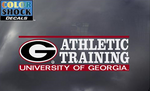 UGA Georgia Bulldogs Athletic Training Decal