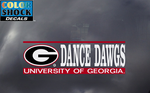 UGA Georgia Bulldogs Dance Dawgs Decal
