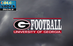 UGA Georgia Bulldogs Football Decal