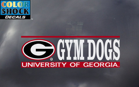 UGA Georgia Bulldogs Gymdogs Decal