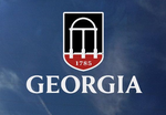 UGA Georgia Bulldogs Shield Decal