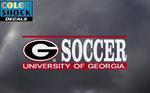 UGA Georgia Bulldogs Soccer Decal