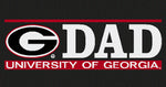 UGA Georgia Bulldogs Dad Decal
