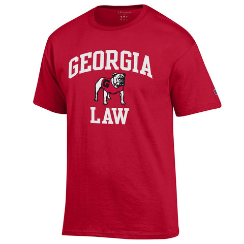 UGA GEORGIA LAW Champion T-Shirt - Red