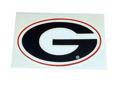 UGA Car Sticker
