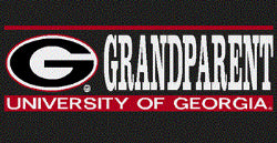 UGA Georgia Bulldogs Grandparent Decal