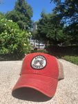 Athens, Georgia Cannon Zephyr Trucker Hat - Red