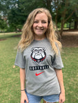 UGA Georgia Bulldogs Nike Softball Core T-Shirt - Gray