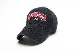Georgia Softball Legacy Cap - Black