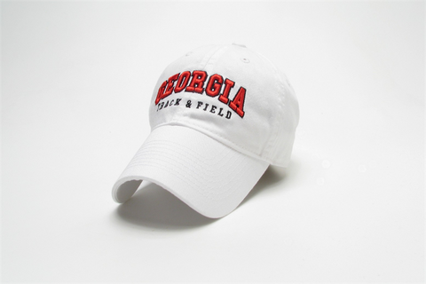 Georgia Track and Field Legacy Cap - White