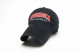 Georgia Volleyball Legacy Cap - Black