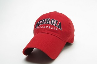 Georgia Volleyball Legacy Cap - Red