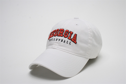 Georgia Volleyball Legacy Cap - White