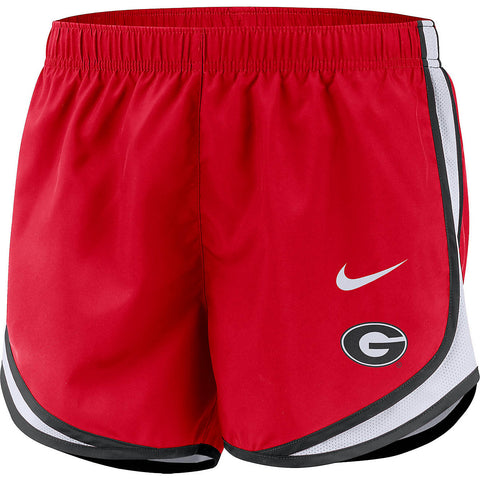 UGA Georgia Bulldogs Women's Running Shorts - Red