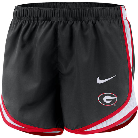UGA Georgia Bulldogs Women's Running Shorts - Black