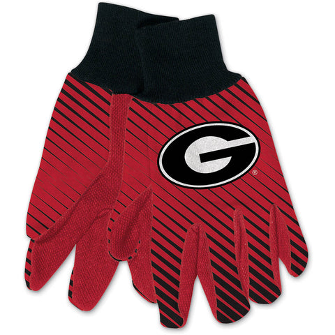 UGA Wincraft Adult 2-Tone Gloves
