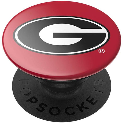 UGA Georgia Bulldogs Oval G Popsocket - Red