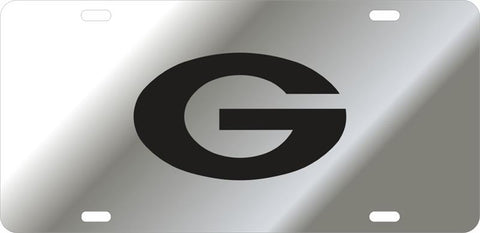 UGA Georgia Mirror Oval G Car Tag - Mirror