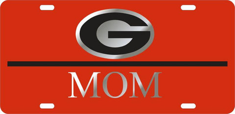 UGA Georgia Mom Car Tag