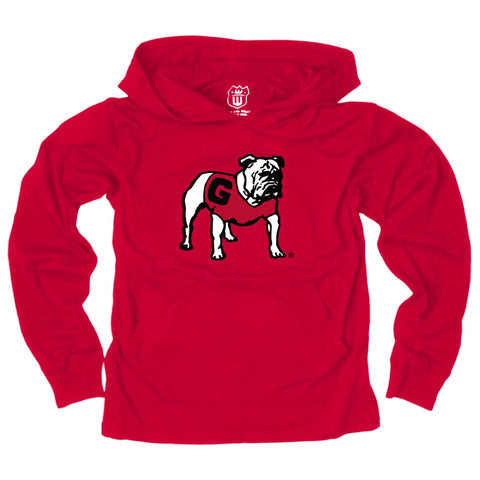 UGA Georgia Bulldogs Toddler Lightweight Hoodie - Red